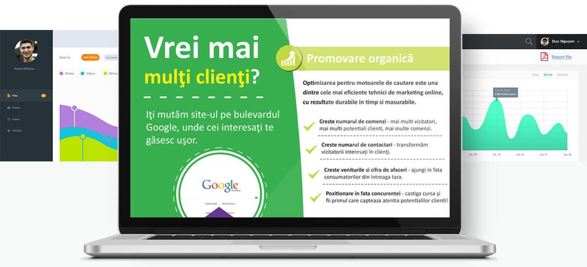 Servicii de promovare site online. Ai nevoie de promovare site web? Te putem ajuta.